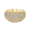 Full Pave Dome Ring