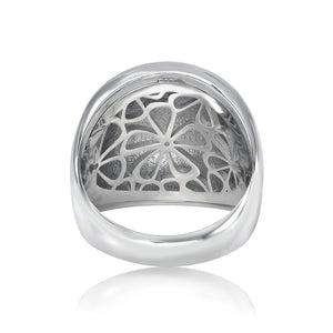 Dome Ring XL Sterling Silver