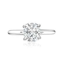 Four Prong Cushion Cut