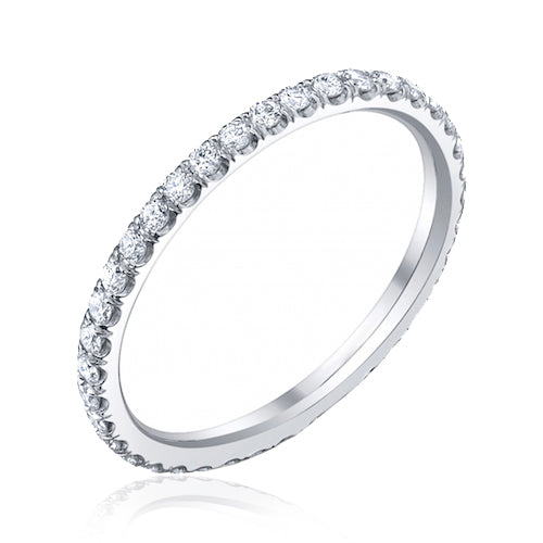 Small Split Prong Diamond Band