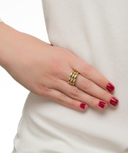 Thin Dome Ring