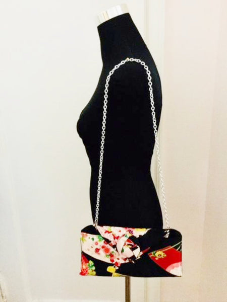 Japanese Motif Clutch Bag