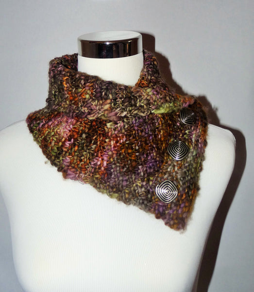 Potpourri Colored Knitted Cowl