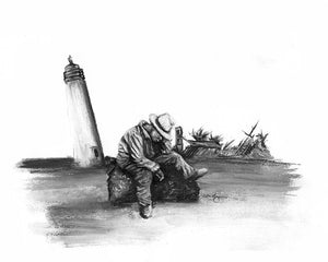 The Lighthouse Keeper Limited Edition Archival Reproduction