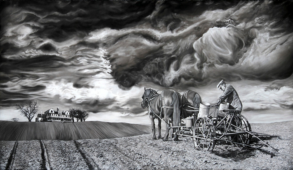 The Serf Before the Storm Limited Edition Archival Reproduction
