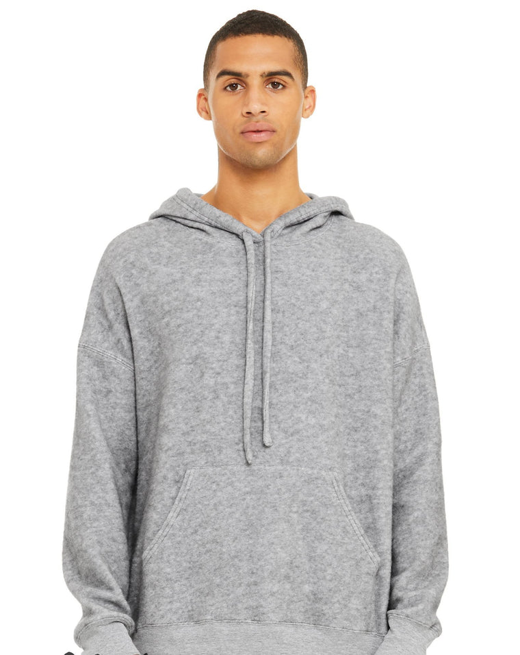 Sueded Fleece Pullover Hoodie
