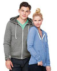 Sponge Fleece Full-Zip Hoodie - Simple Stature