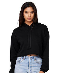 Cropped Fleece Hoodie - Simple Stature