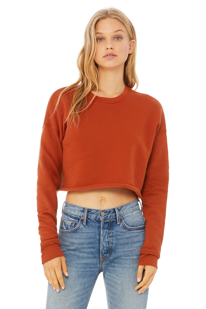 Cropped Crew Fleece - Simple Stature