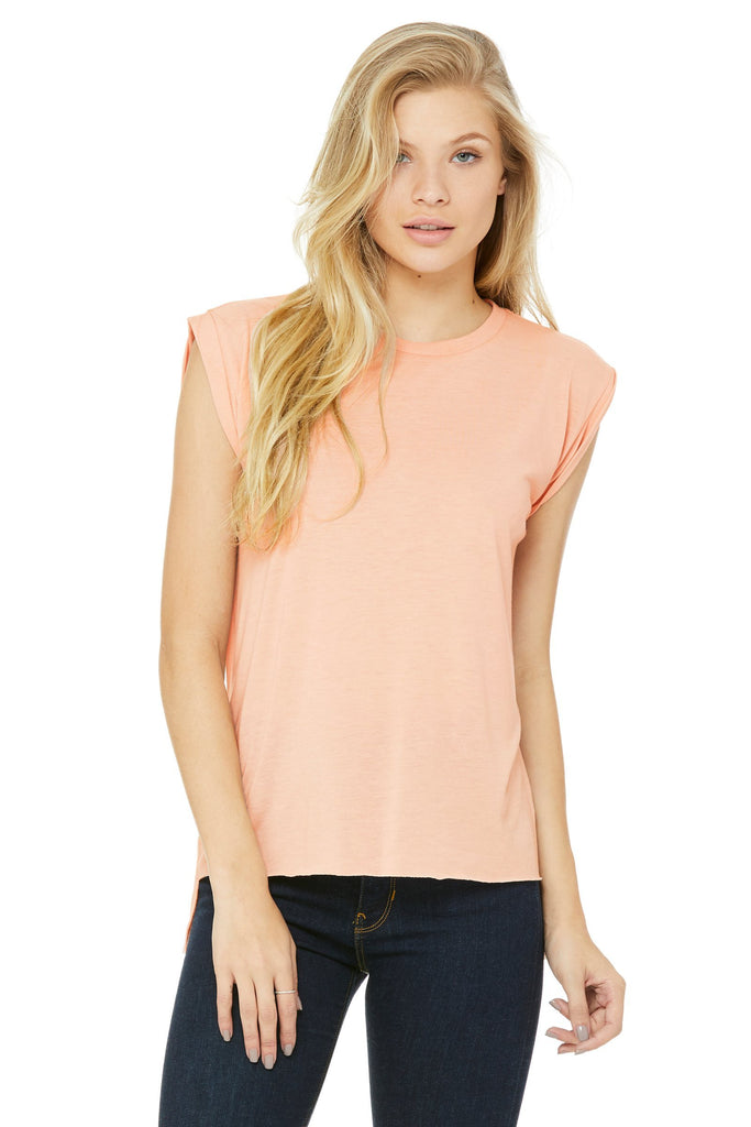 Flowy Rolled Cuff Tee - Simple Stature