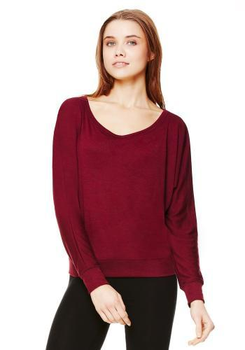 Flowy Off-the-Shoulder Tee - Simple Stature