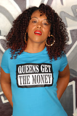 Queens Get The Money Tee - Simple Stature