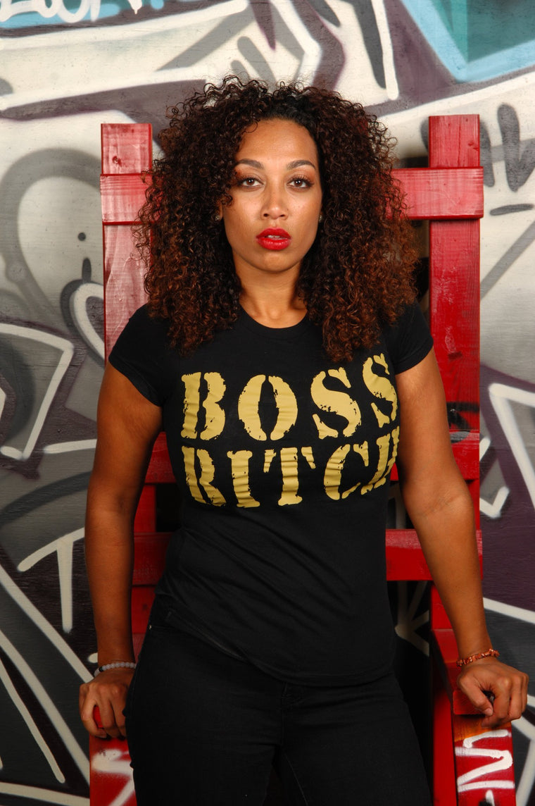 Boss Bitch Tee - Simple Stature