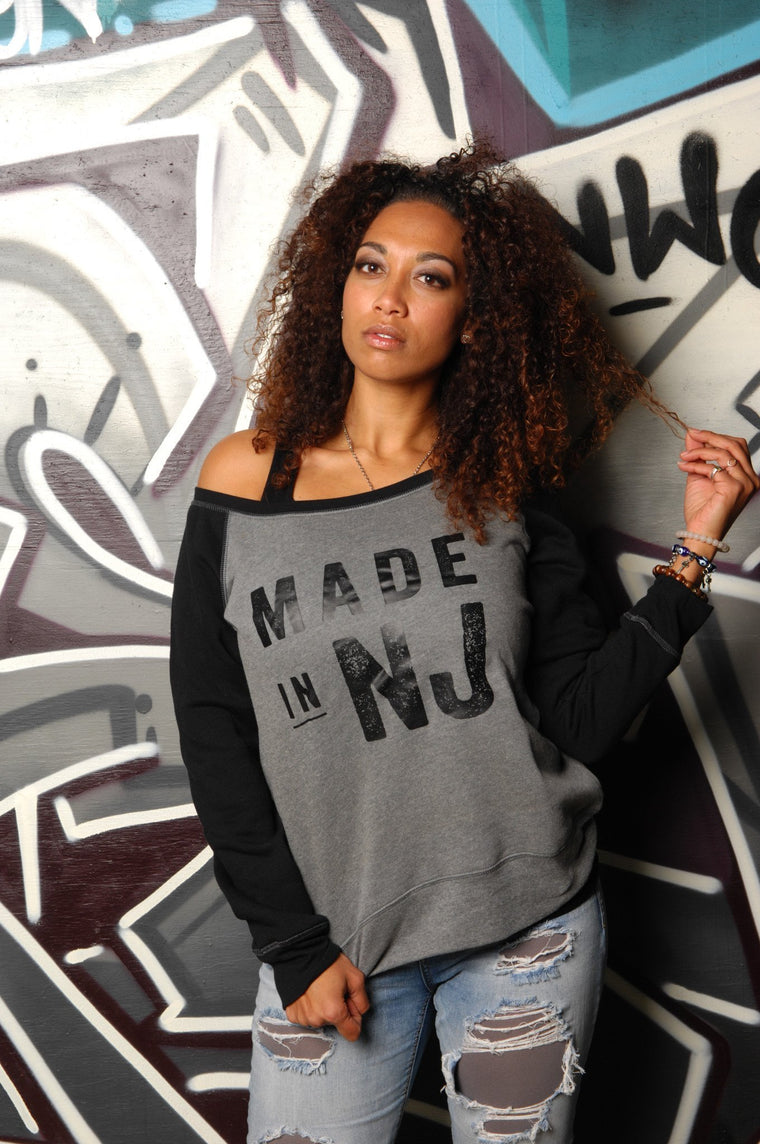 Made in New Jersey (NJ) Slouchy Sweatshirt