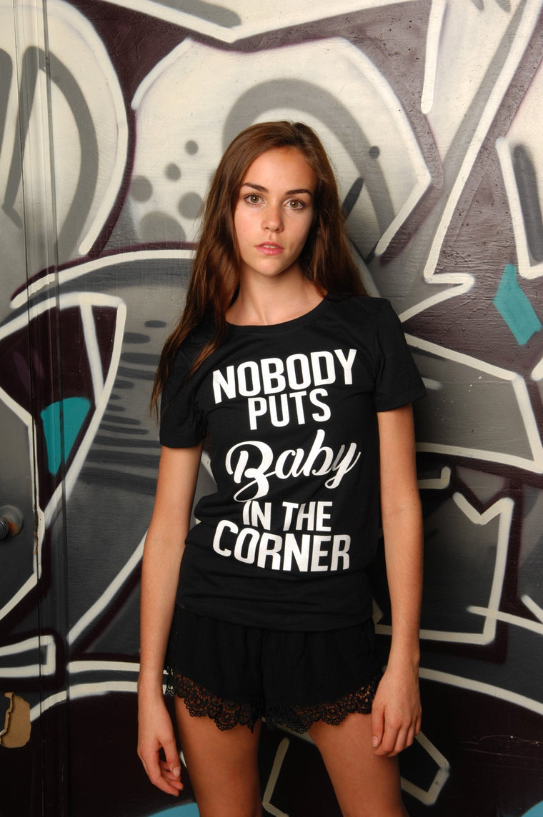 Baby in the Corner Tee - Simple Stature