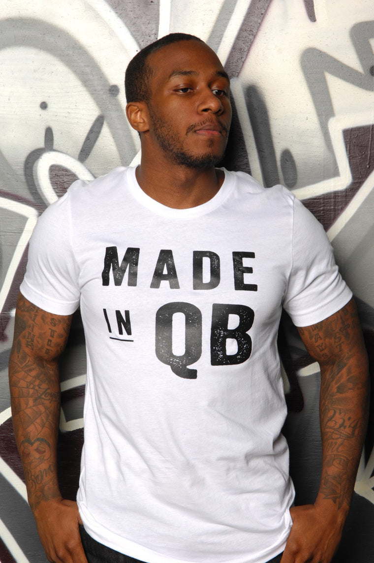Made in Queens (QB) Tee - Simple Stature