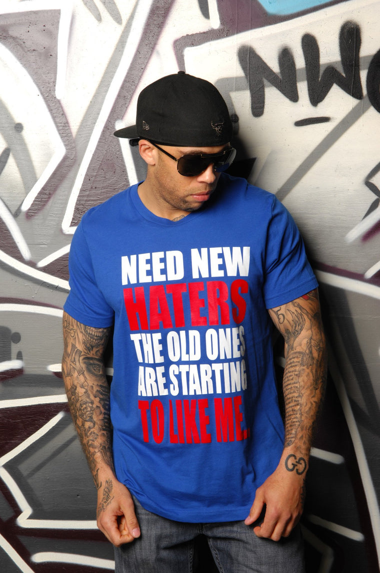 New Haters Needed Tee - Simple Stature