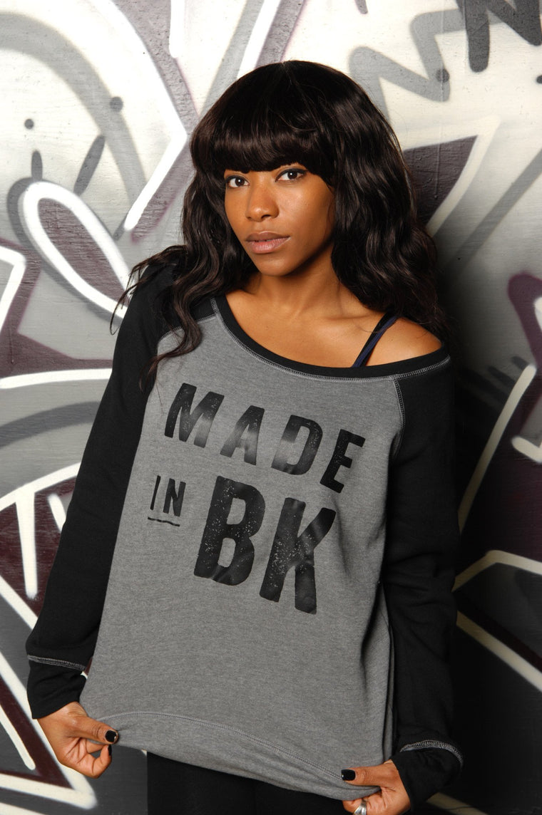 Made in Brooklyn (BK) Slouchy Sweatshirt
