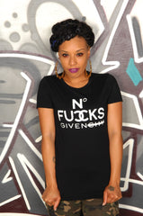 No Fucks Given Tee - Simple Stature