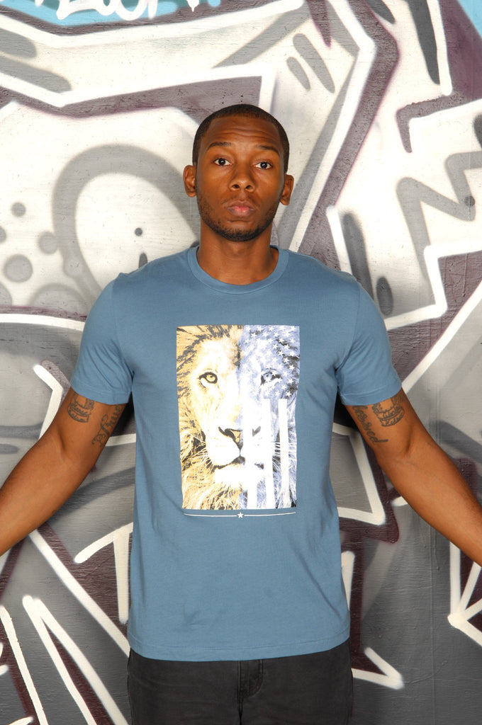 American Lion Tee - Simple Stature