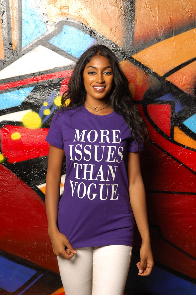 More Issues Than Vogue Tee - Simple Stature