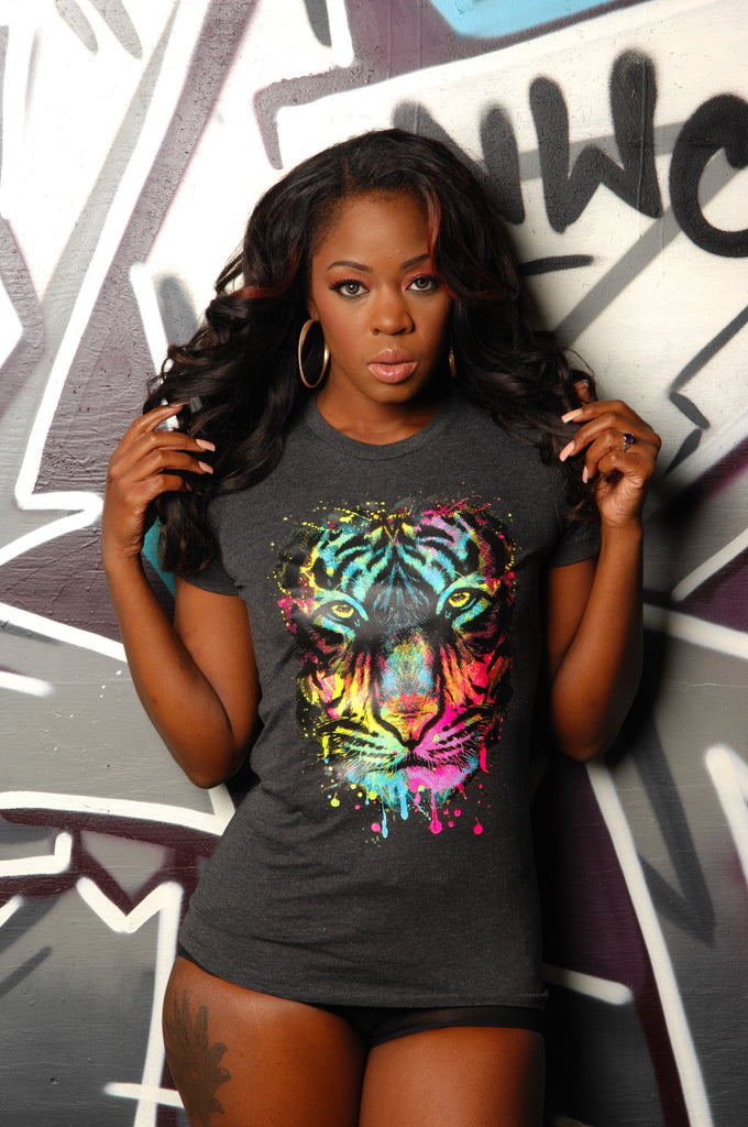 Neon Tiger Tee - Simple Stature