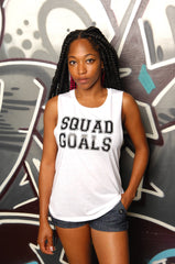 Squad Goals Muscle Tank - Simple Stature