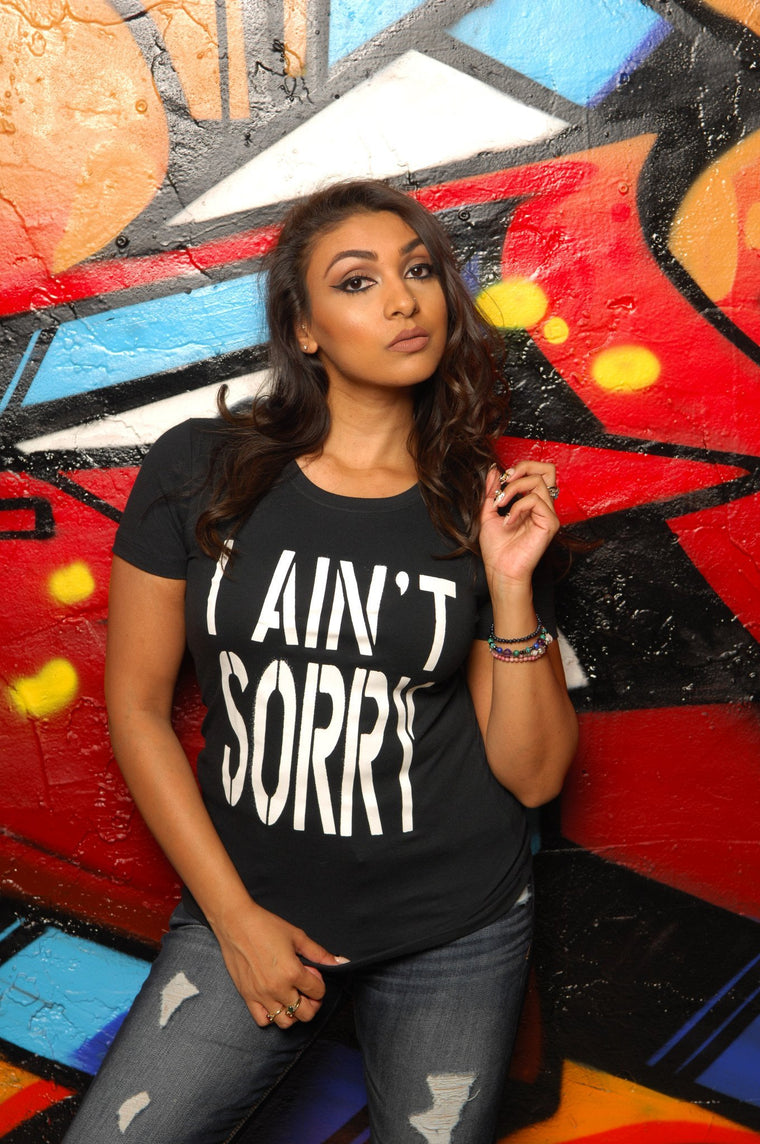I Ain't Sorry Tee - Simple Stature