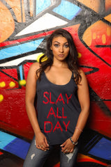 Slay All Day Tank - Simple Stature
