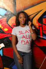 Slay All Day Tee - Simple Stature
