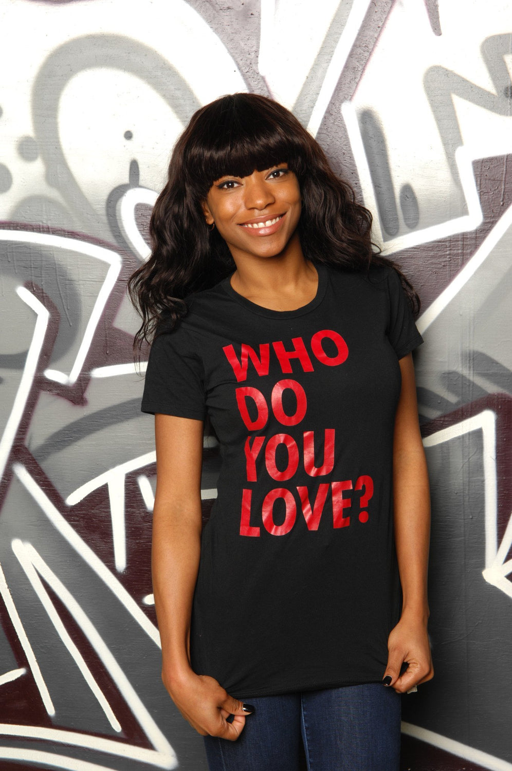 Who Do You Love? Tee - Simple Stature