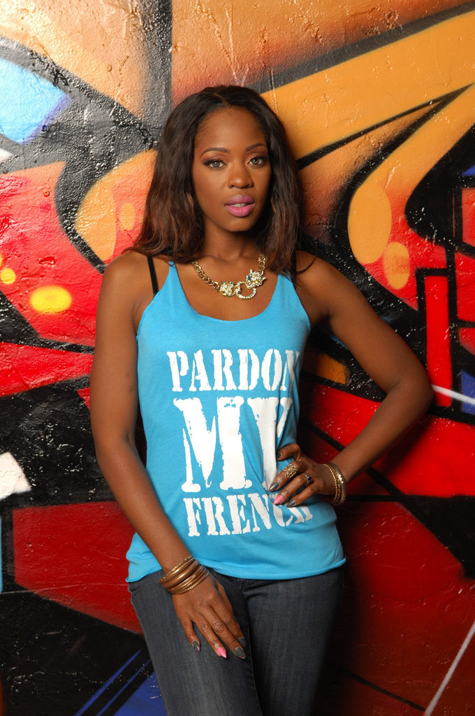 Pardon My French Tank - Simple Stature
