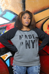 Made in New York (NY) Slouchy Sweatshirt - Simple Stature