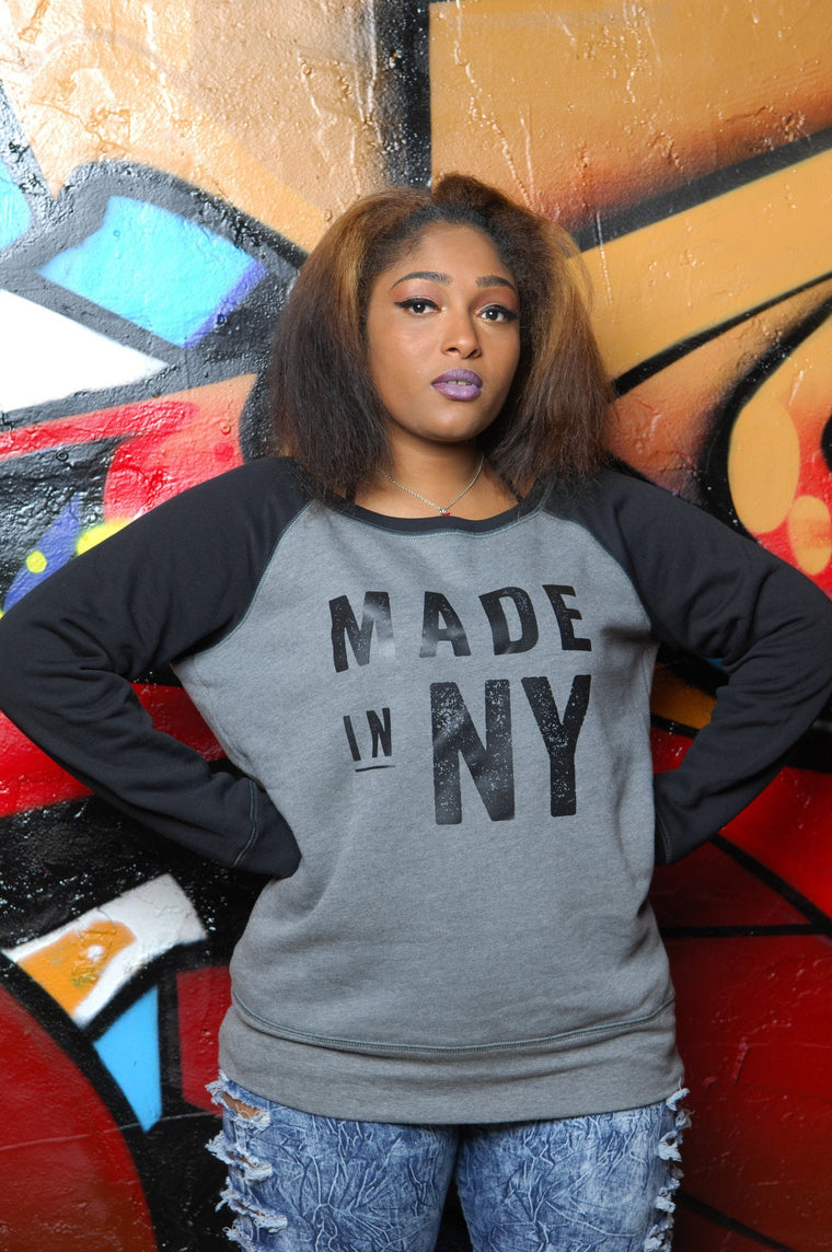 Made in New York (NY) Slouchy Sweatshirt