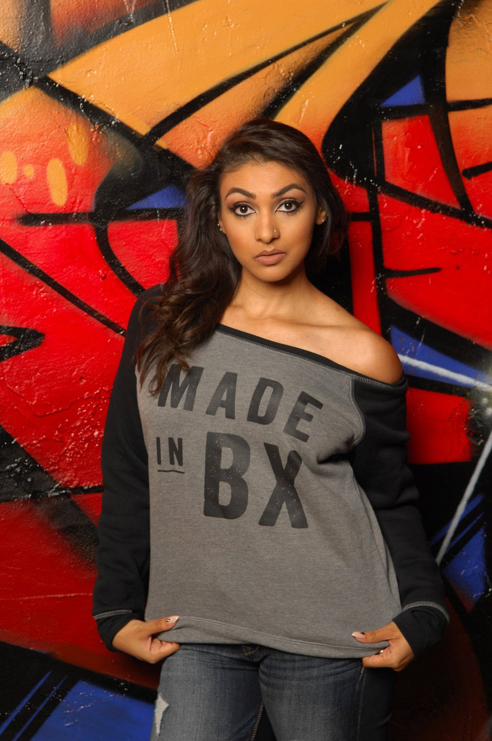 Made in The Bronx (BX) Slouchy Sweatshirt - Simple Stature