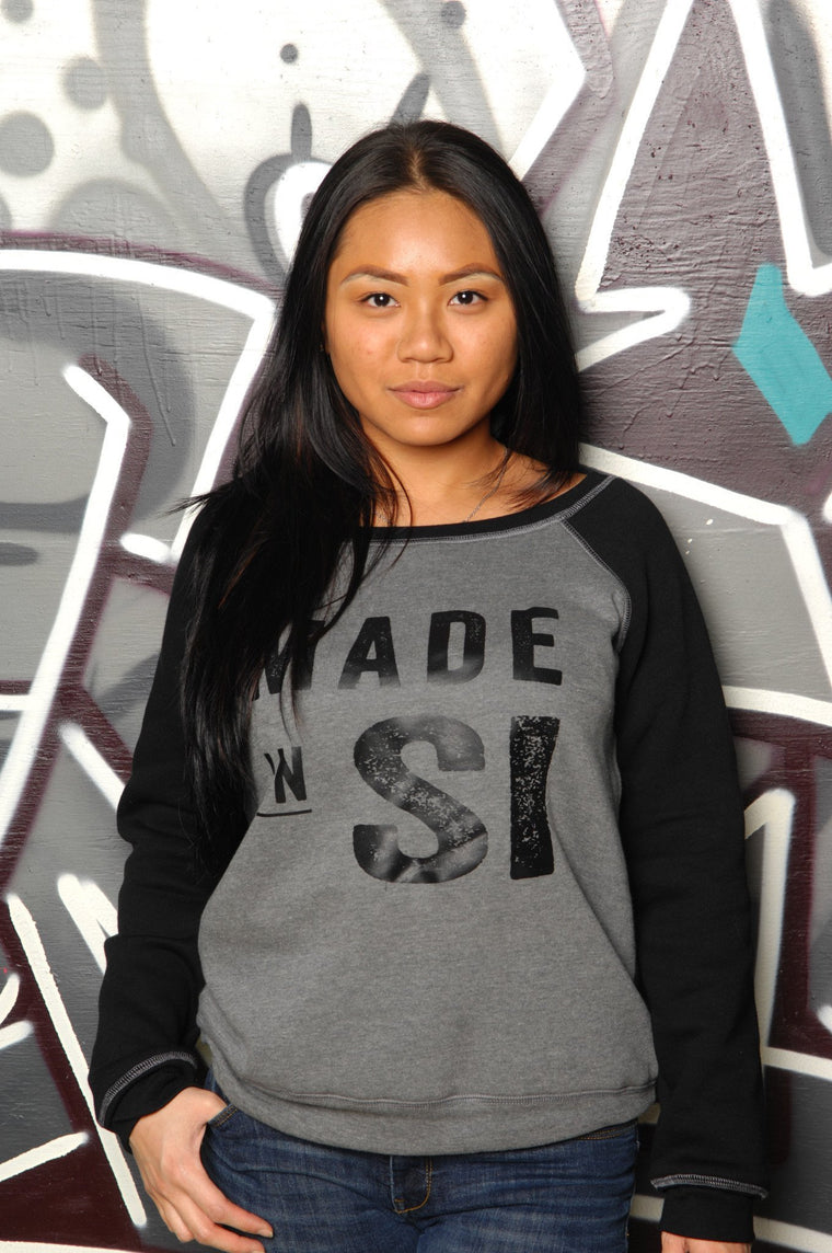 Made in Staten Island (SI) Slouchy Sweatshirt