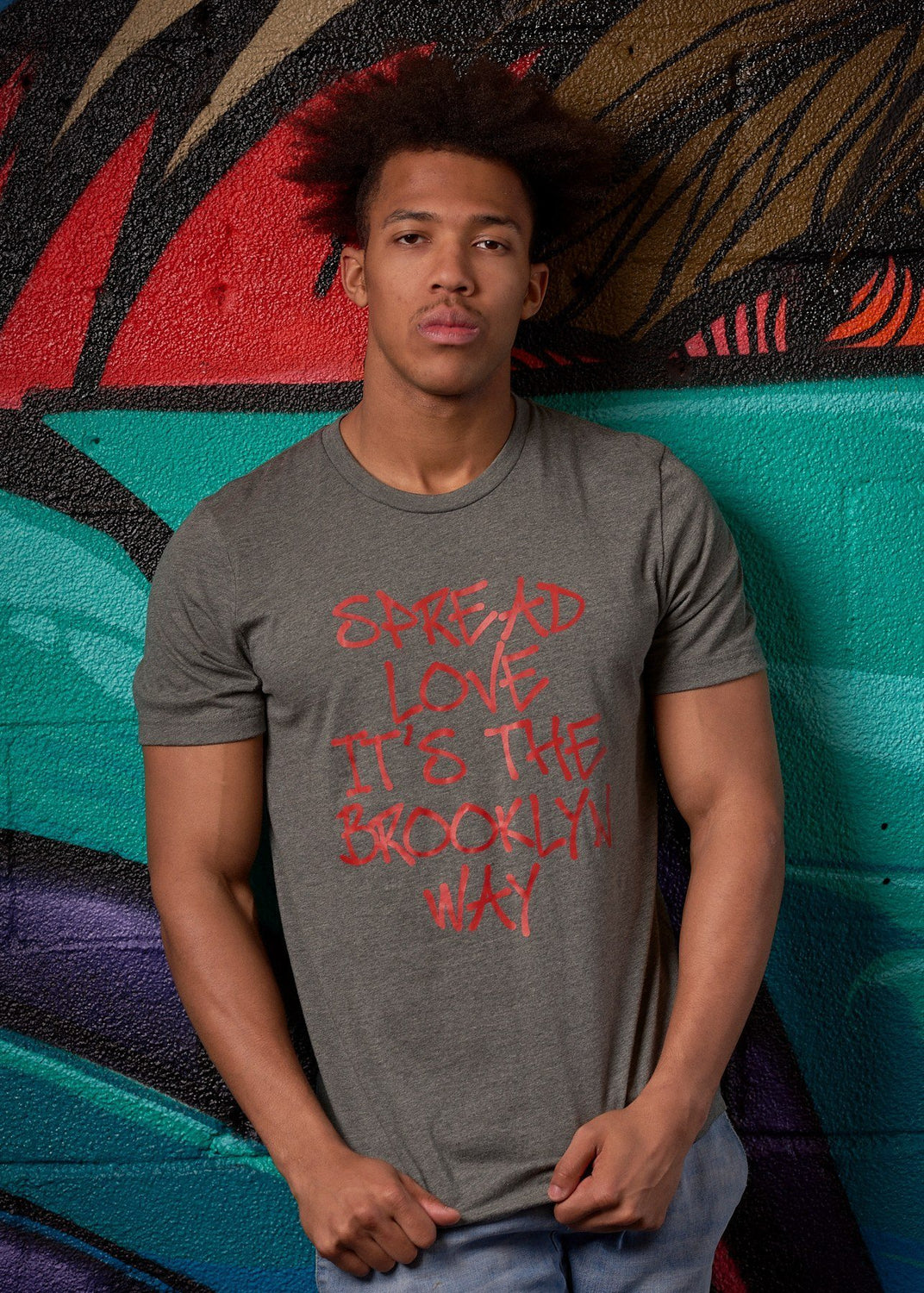 Spread Love ... It's the Brooklyn Way Tee - Simple Stature