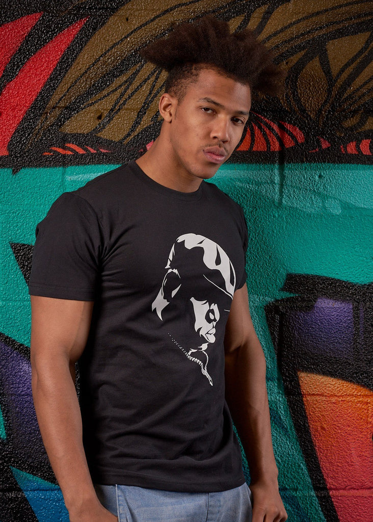 Notorious BIG Sueded Tee - Simple Stature