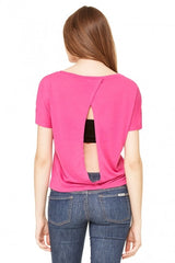 Flowy Open Back Tee - Simple Stature