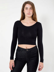 Long Sleeve Crop Top - Simple Stature