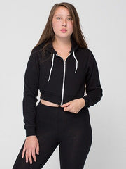 Flex Cropped Zip Hoodie - Simple Stature