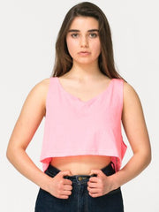 Cropped Loose Tank - Simple Stature