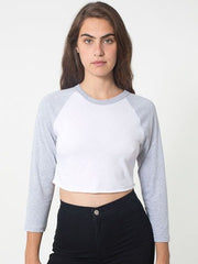 Cropped Baseball Tee - Simple Stature