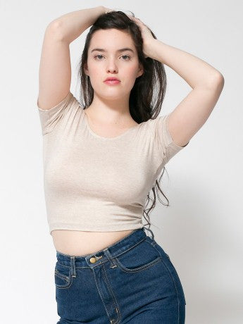 Cropped Tee - Simple Stature