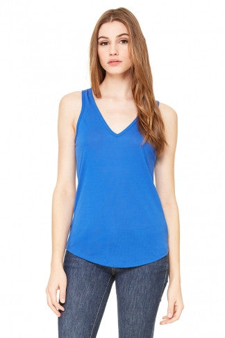 Flowy V-Neck Tank - Simple Stature