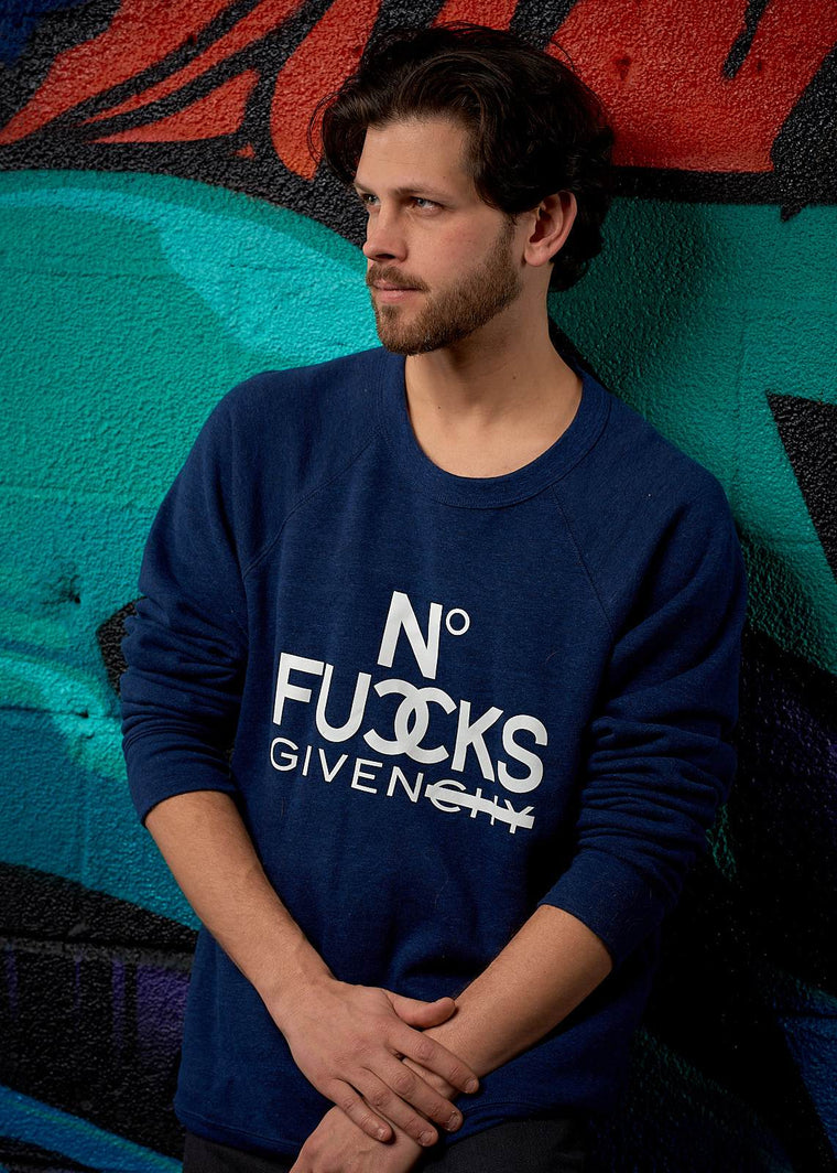 No Fucks Given Pullover Sweatshirt