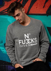 No Fucks Given Pullover Sweatshirt - Simple Stature