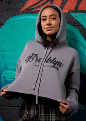 Brooklyn Cropped Hoodie - Simple Stature