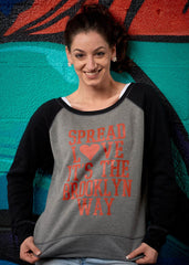 Spread Love ... It's the Brooklyn Way Slouchy Sweatshirt - Simple Stature