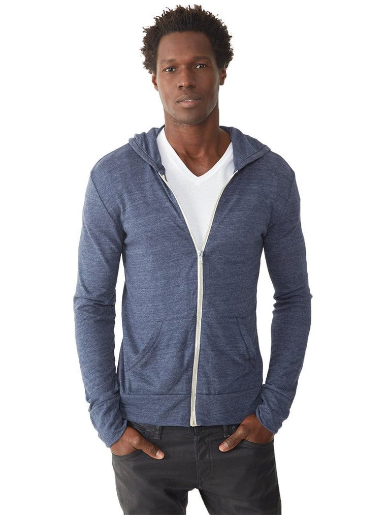 Eco Zip-Up Hooded Tee